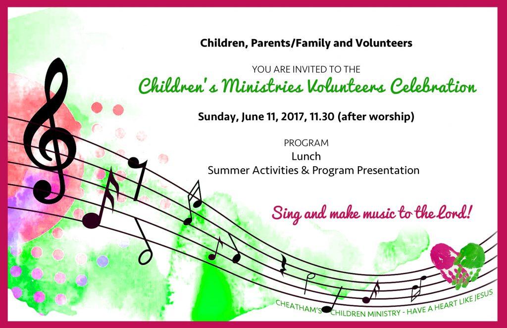 Children's Volunteers Celebration