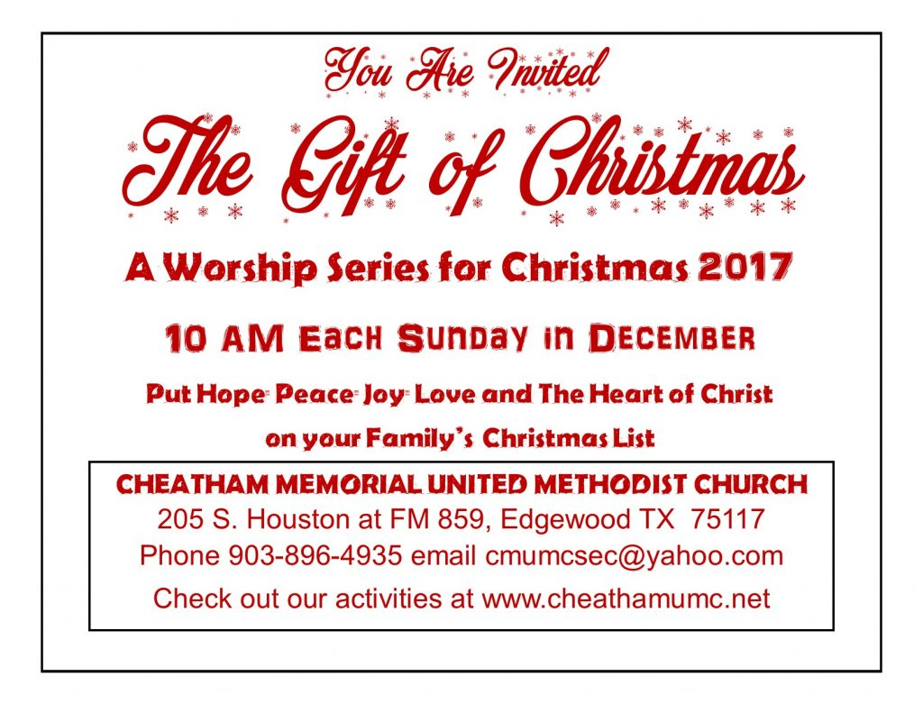 Give the Gift of Invitation