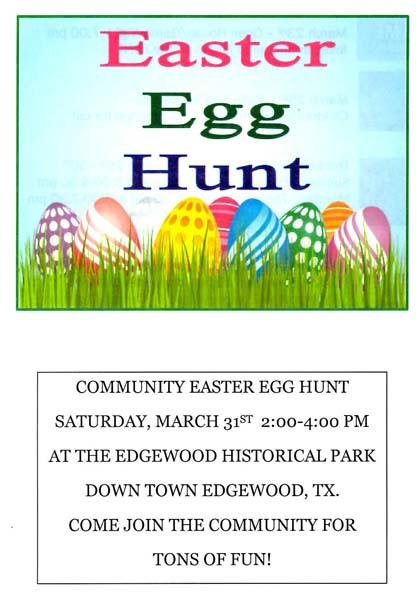 Community Wide Egg Hunt