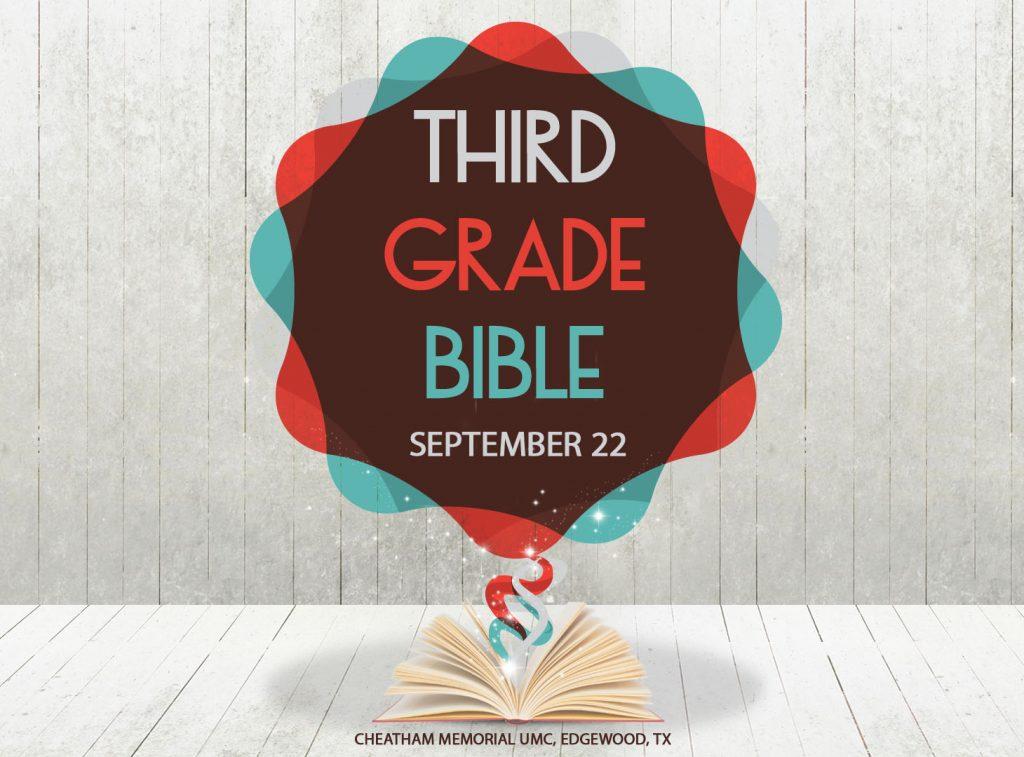 Third Grade Bible